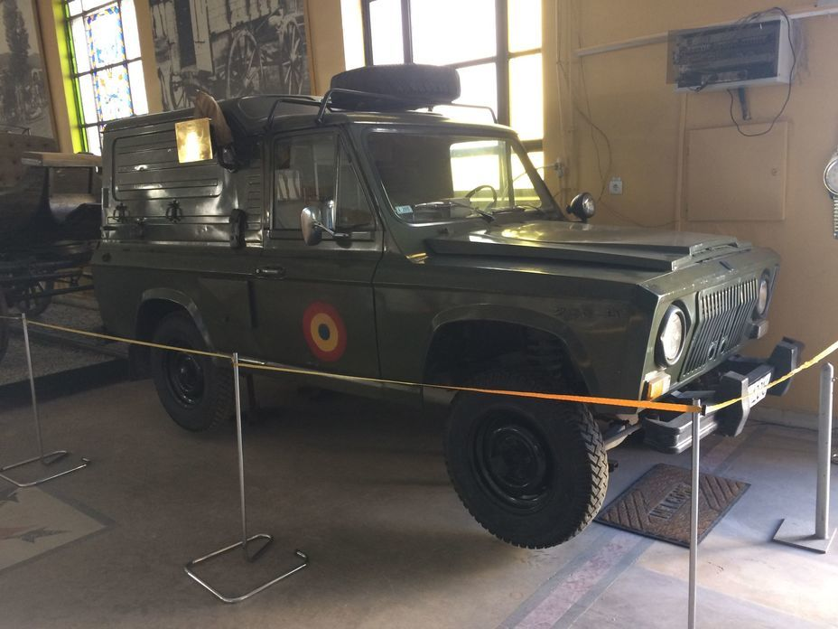 ​Army SUV ARO 240. Photo by the author - Romanian military history from antiquity to the 21st century | Warspot.net