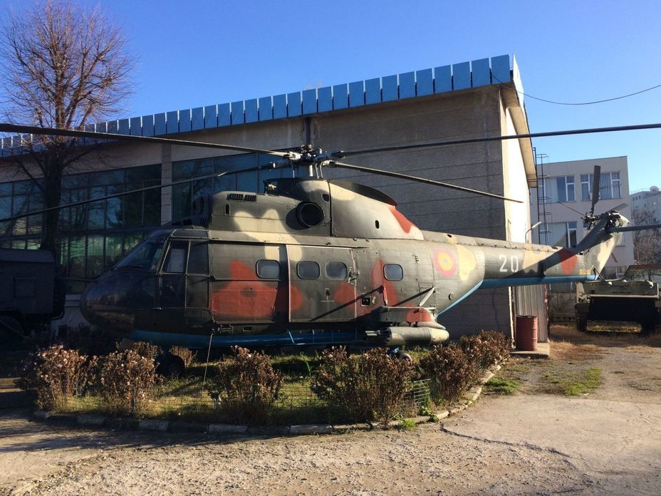 ​IAR 330 — Romanian version of the French SA 330 Puma helicopter. Photo by the author - Romanian military history from antiquity to the 21st century | Warspot.net