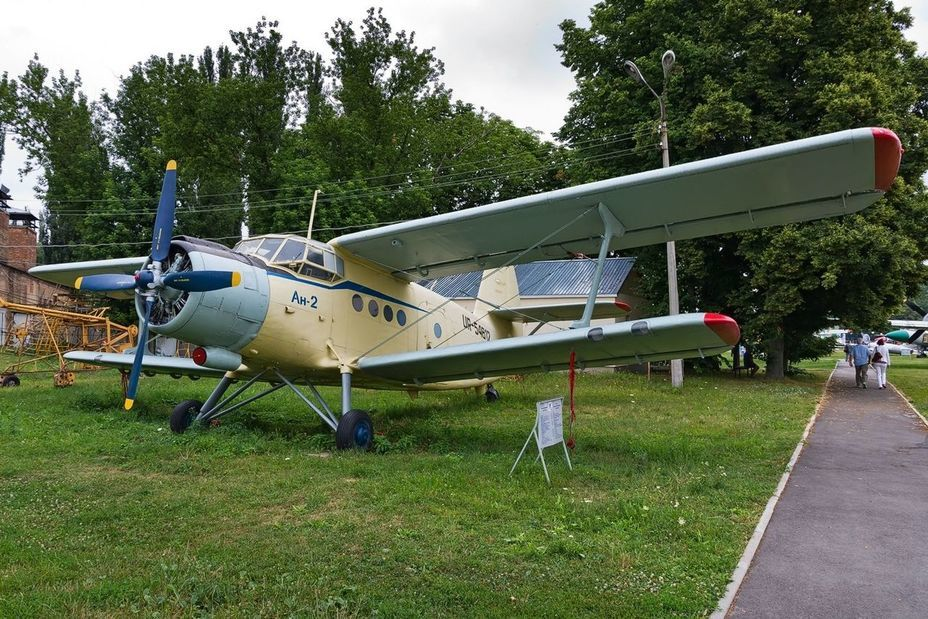 ​An-2 light passenger aircraft. Oddly enough, the museum has only one version of this legendary aircraft, which was designed in Kyiv. — commons.wikimedia.org - «Hidden» Aviation Museum | Warspot.net