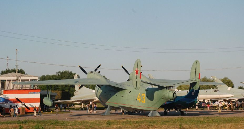 ​Be-6 multipurpose flying boat, rear view. Photo by the author - «Hidden» Aviation Museum | Warspot.net