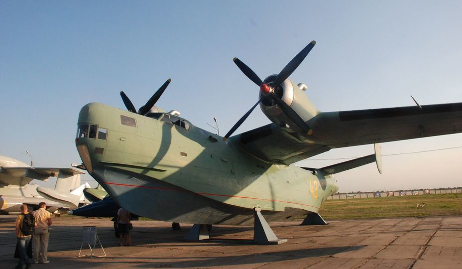 ​Be-6 multipurpose flying boat, front view. Photo by the author - «Hidden» Aviation Museum | Warspot.net
