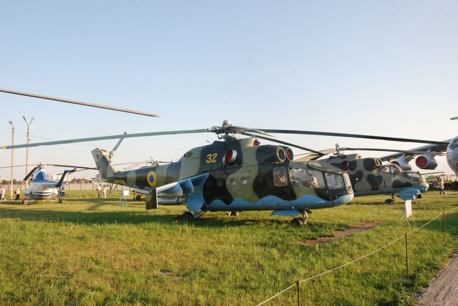 ​Multipurpose attack helicopter Mi-24A. Photo by the author - «Hidden» Aviation Museum | Warspot.net
