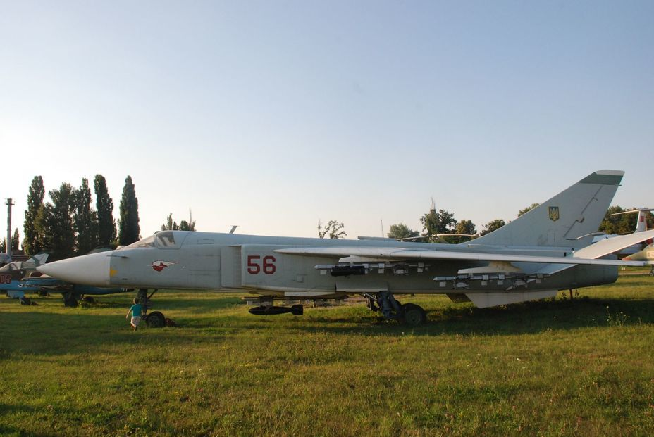 ​Front-line bomber Su-24. Photo by the author - «Hidden» Aviation Museum | Warspot.net