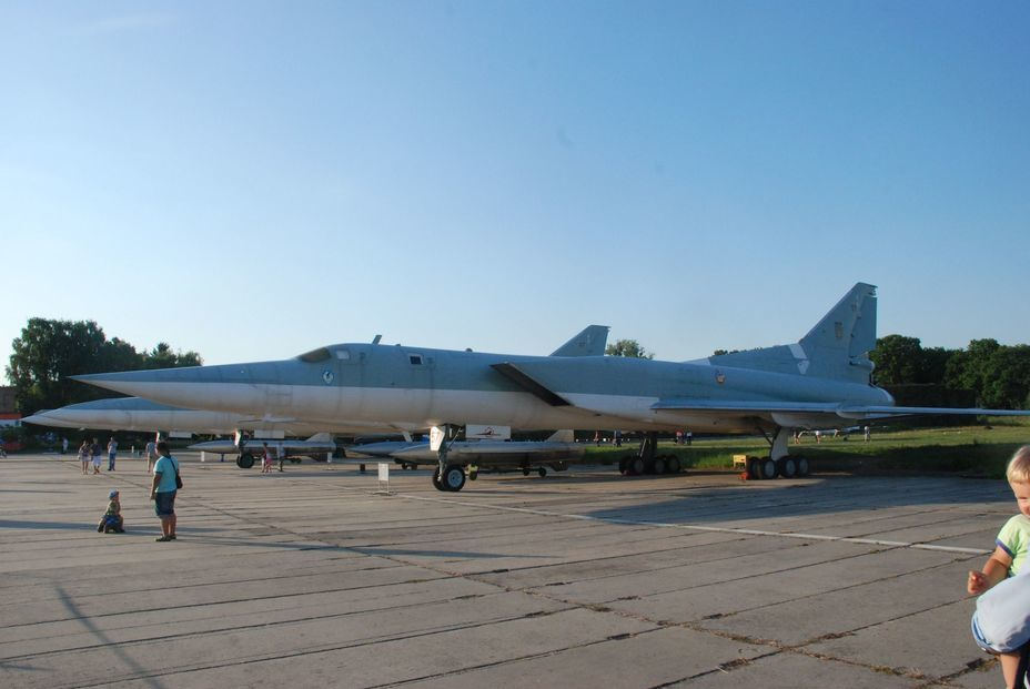 ​Supersonic bomber Tu-22M3. Photo by the author - «Hidden» Aviation Museum | Warspot.net
