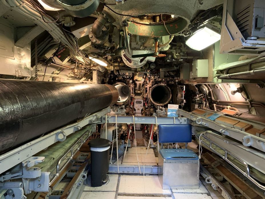 ​Forward torpedo compartment. Photo by the author - Interesting Mismatch | Warspot.net