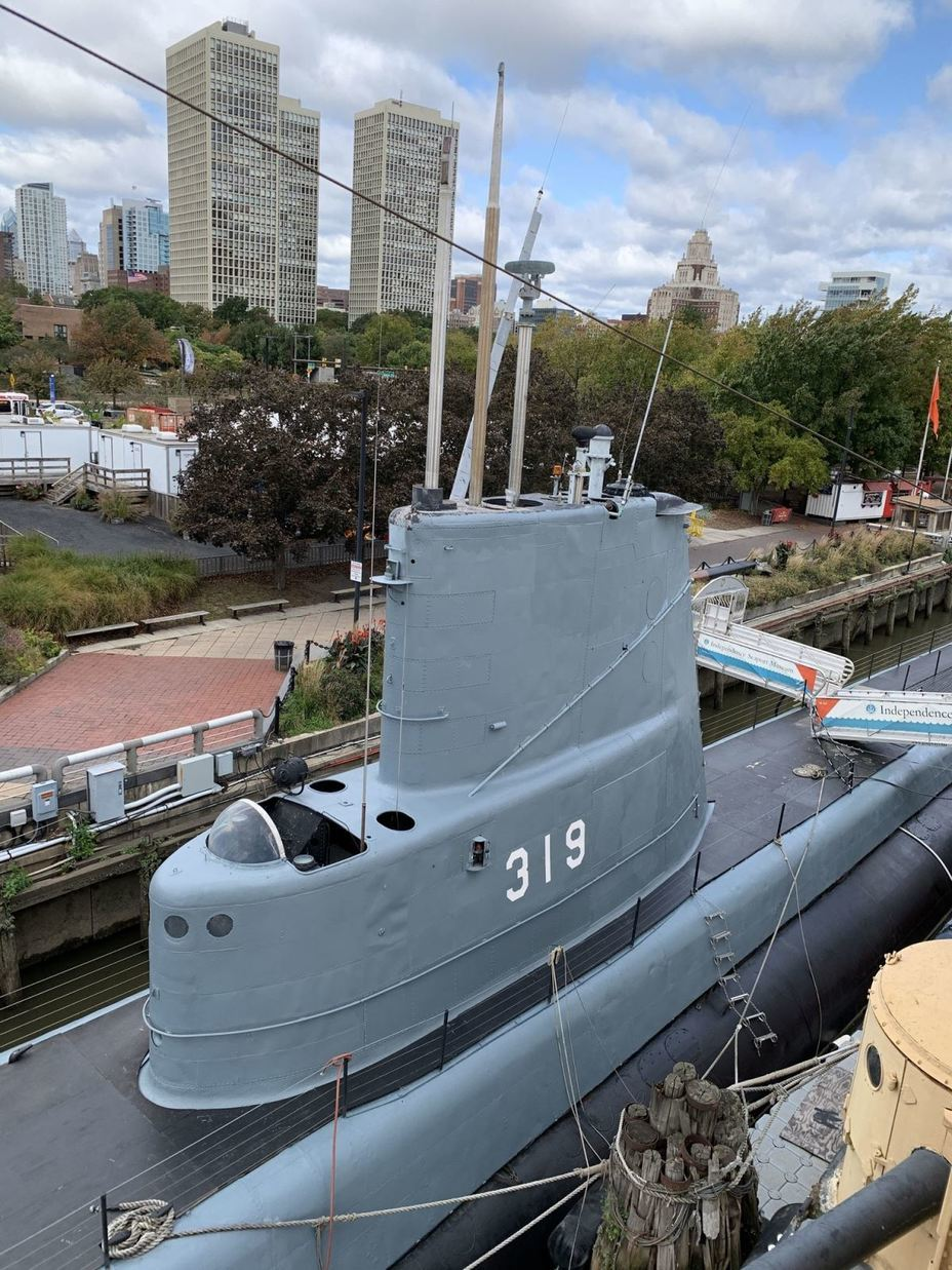 ​View of the submarine's deckhouse. Photo by the author - Interesting Mismatch | Warspot.net