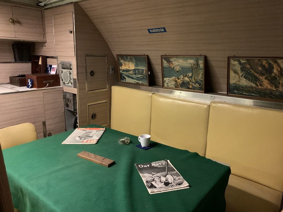 ​Officers' wardroom. Photo by the author - Interesting Mismatch | Warspot.net