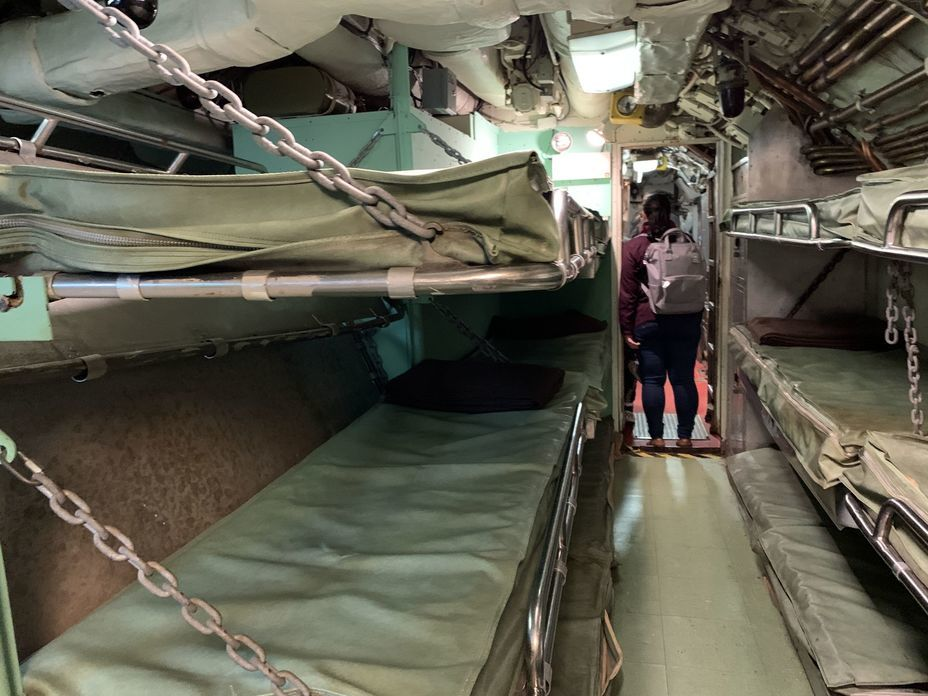 ​Crew bunks. Photo by the author - Interesting Mismatch | Warspot.net