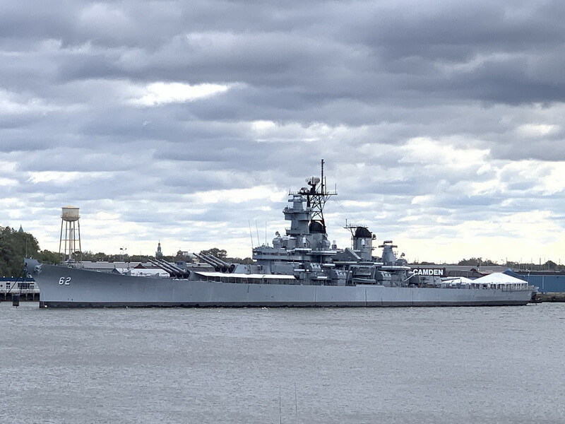​The modern look of the battleship. Photo by the author - Fire Power for Freedom | Warspot.net