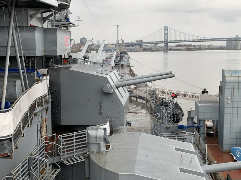 ​5-inch starboard guns. Photo by the author - Fire Power for Freedom | Warspot.net