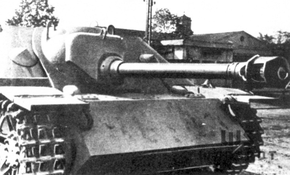 ​The gun mantlet was modified, but this was still not the final variant - Jagdpanzer IV: The Best StuG | Warspot.net