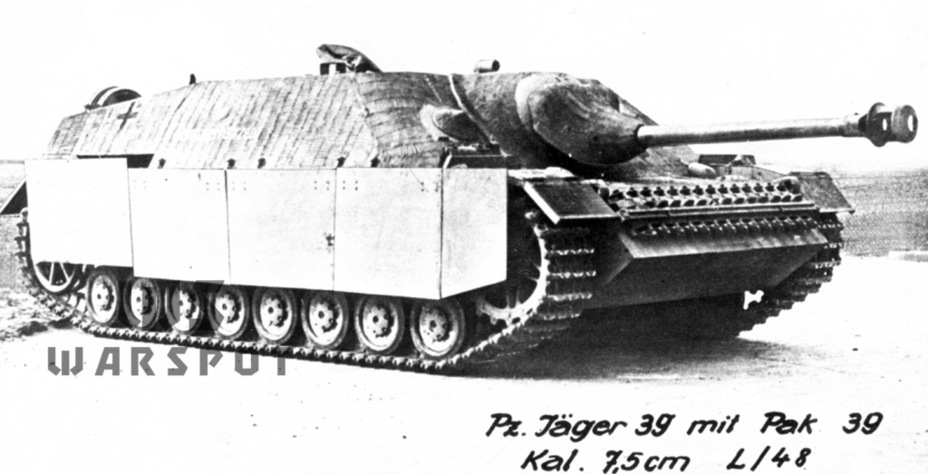 ​The second prototype, November 1943. This vehicle was later used for training - Jagdpanzer IV: The Best StuG | Warspot.net